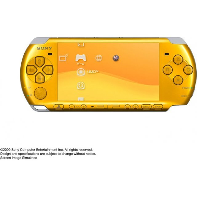 PSP PlayStation Portable Slim & Lite - Bright Yellow (PSP-3000BY)