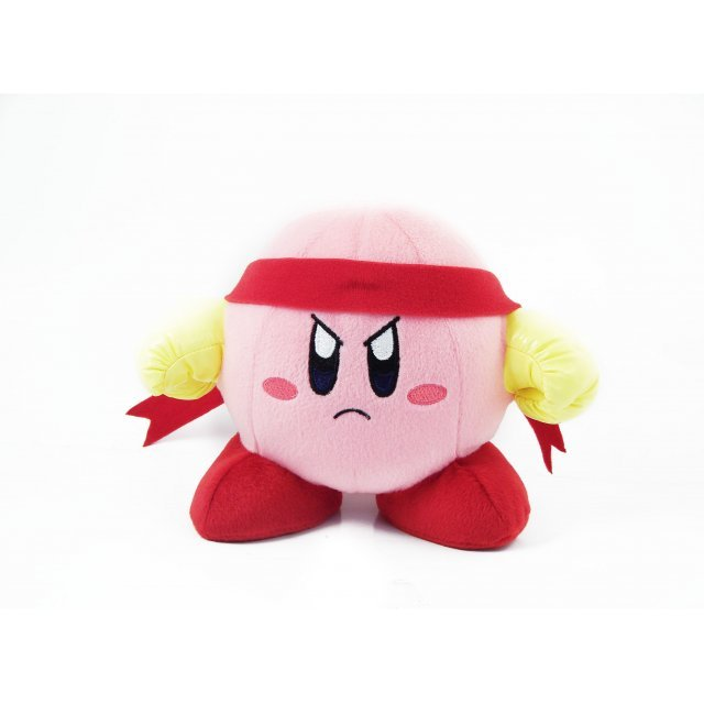 Kirby Adventure Kirby Plush Doll: Fighter Kirby