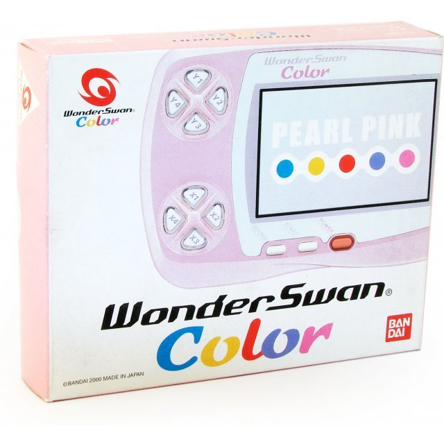 WonderSwan Color Console - Pearl Pink