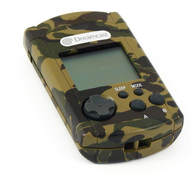Dreamcast Visual Memory Card VMS/VMU (D-Direct Camouflage Design) (loose)