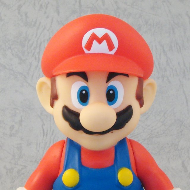Super Mario Characters Figure In Blister 3 Pre-Painted Figure: Mario