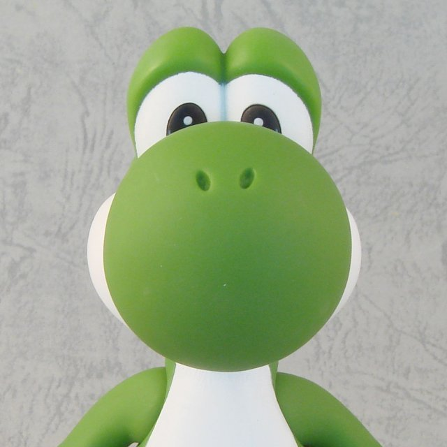 Super Mario Characters Figure In Blister 3 Pre-Painted Figure: Yoshi (Green Version)
