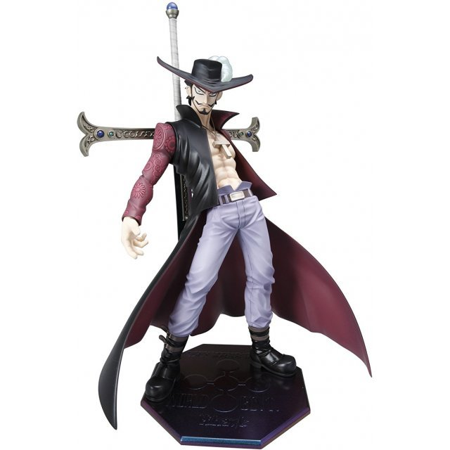 Excellent Model One Piece Neo-DX - Portraits of Pirates 1/8 Scale Pre-Painted Figure: Hawk-Eye Mihawk (Re-run)