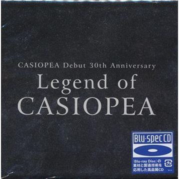 Casiopea Debut 30th Anniversary Legend Of Casiopea [Blu-spec CD Limited Edition]