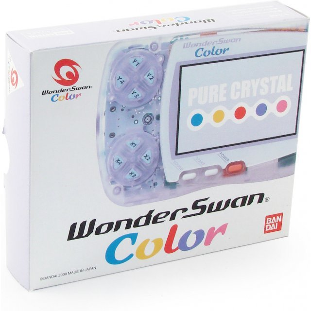 WonderSwan Color Console - Pure Crystal