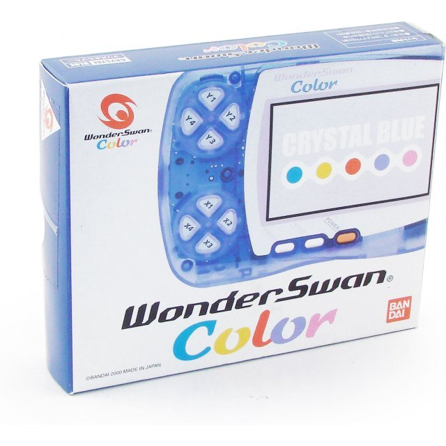 WonderSwan Color Console - Crystal Blue