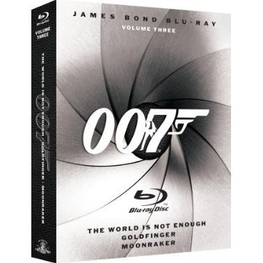 James Bond Blu-ray Collection Vol. 3 (3-pack)