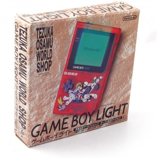 Game Boy Light Console - Astro Boy clear red Special Edition