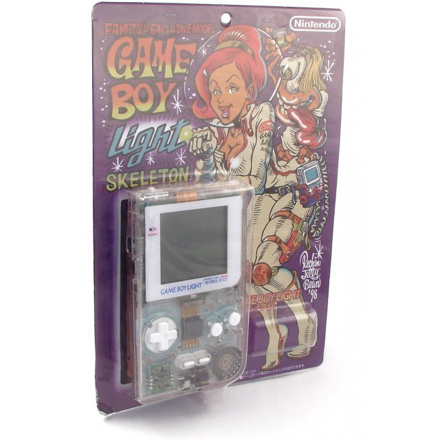 Game Boy Light Console - Famitsu Exclusive Model Skeleton The 500th Edition Special Edition