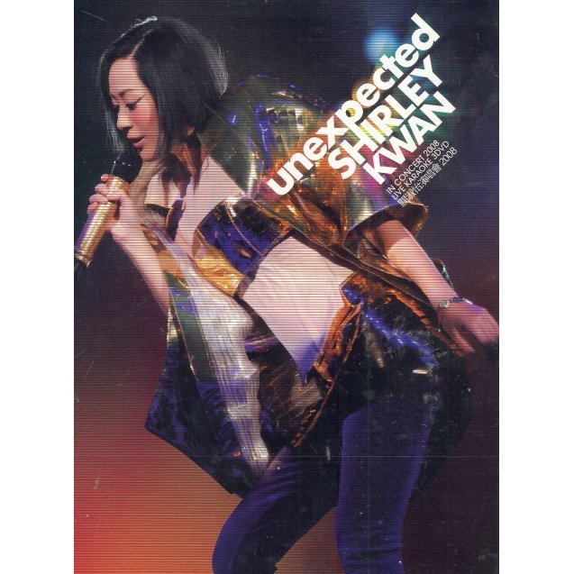 Unexpected Shirley Kwan In Concert 2008 Live [3DVD]
