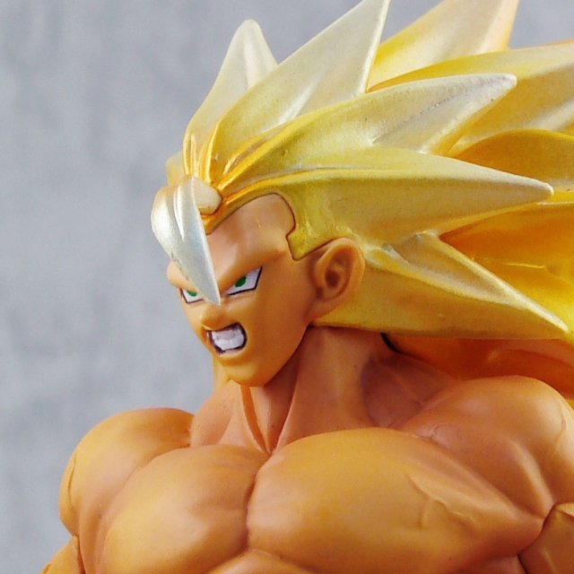 Dragon Ball Z DX Max Muscle Mania Vol. 1 Pre-Painted Figure: Son Goku Super Saiyan 3