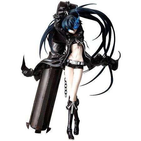 Black Rock Shooter 1/8 Scale Pre-Painted PVC Figure: Black Rock Shooter (Re-run)