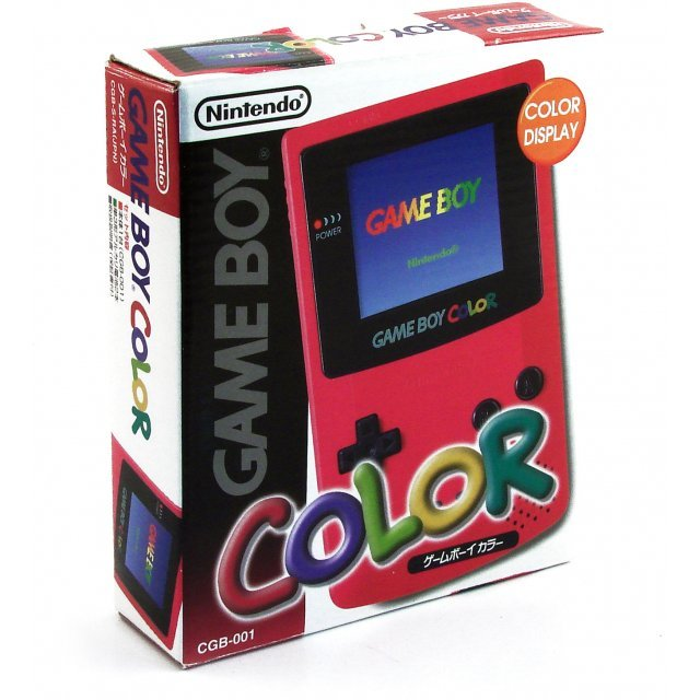 Game Boy Color Console - pink