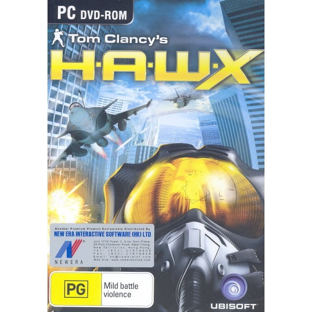 Tom Clancy's H.A.W.X. (DVD-ROM)