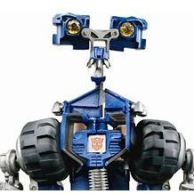 Transformers Movie Non Scale Pre-Painted Action Figure: RA-09 Autobots Wheelie