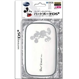 Disney Character Hard Pouch DSi (Mickey White)