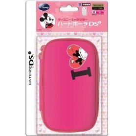 Disney Character Hard Pouch DSi (Minnie Pink)