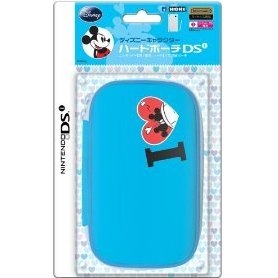 Disney Character Hard Pouch DSi (Minnie Blue)