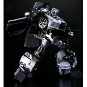 Transformers Non Scale Pre-Painted Action Figure: Alternity A-01 Nissan GT-R