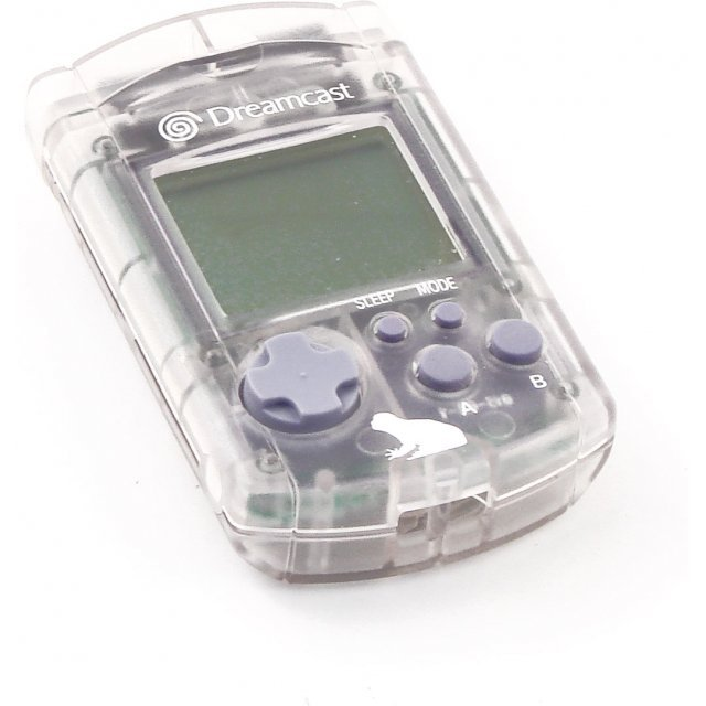 Dreamcast Visual Memory Card VMS/VMU (Seaman Design clear) (loose)