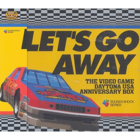 Let's Go Away The Video Game Daytona USA Anniversery Box