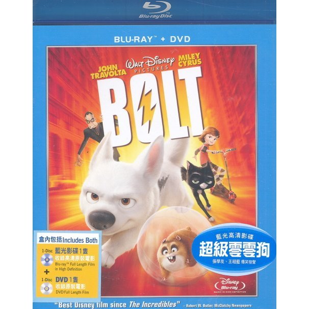 Bolt [Blu-Ray+DVD]