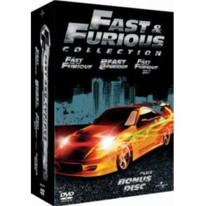 Fast And Furious Collection [1-3 Box Set]