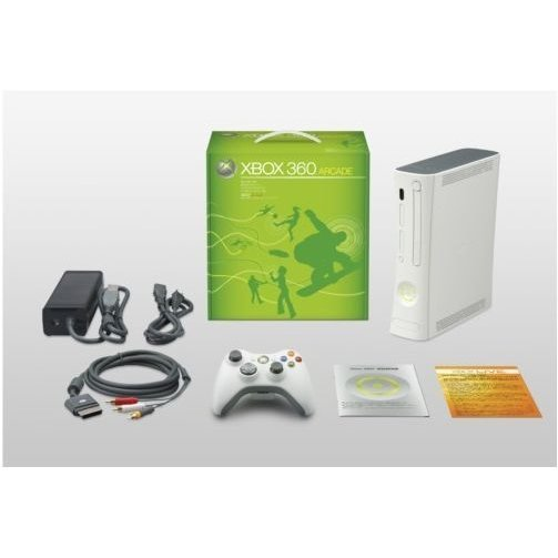 Xbox 360 Arcade Console (w/ 256MB storage built-in)