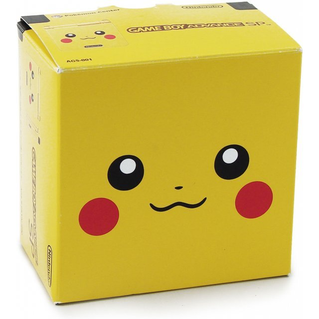 Game Boy Advance SP - Pikachu Limited Edition (110V)