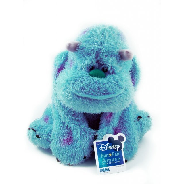 Monsters, Inc. Fun Fan Amuse Prize Collection Plush Doll: Sulley