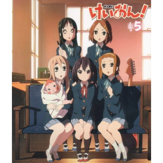 K-ON! 5 [Limited Edition]