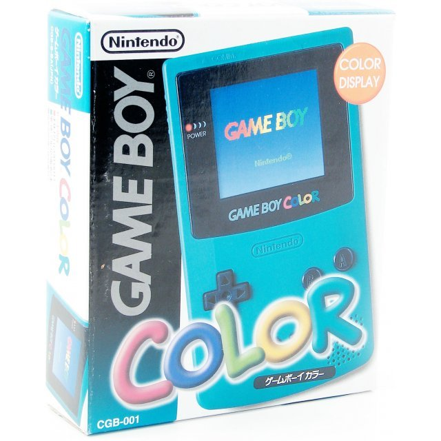 Game Boy Color Console - turquoise