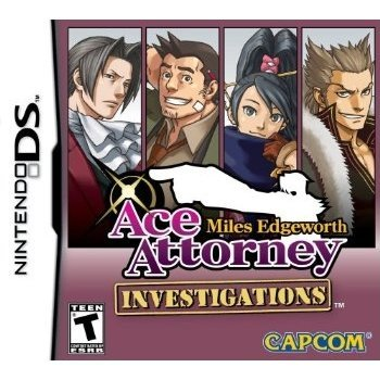 Ace Attorney Investigations: Miles Edgeworth