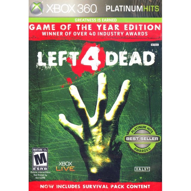 Left 4 Dead (Game of the Year Edition) (Platinum Hits)
