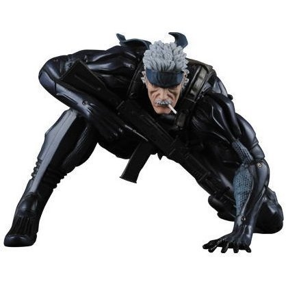 Ultra Detail Figure Metal Gear Solid Collection 2 Pre-Painted Figure: Old Snake (Ready Version)