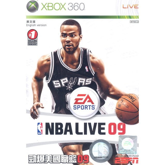 NBA Live 09 (Platinum Hits)