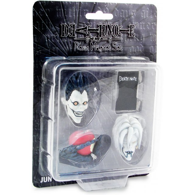 Death Note Resin Magnets 4 Pieces Set