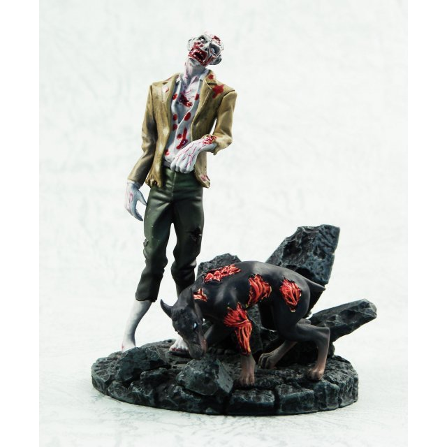 BioHazard Figure Collection Vol. 3 Pre-Painted Figure: Zombie & Cerberus