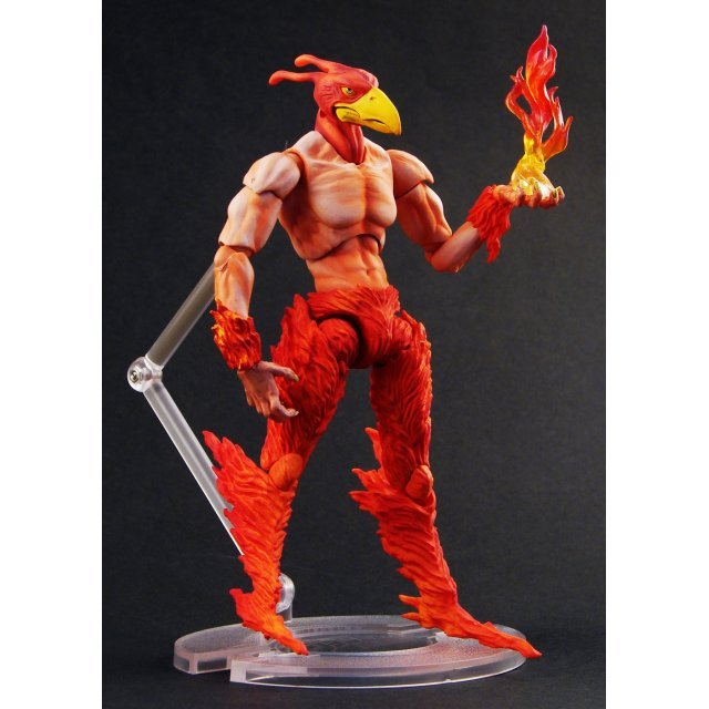 Super Figure JoJo's Bizarre Adventure Part 3 Non Scale Pre-Painted PVC Figure: Magicians Red