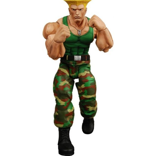 Street Fighter IV Series 2 Action Figure: Guile