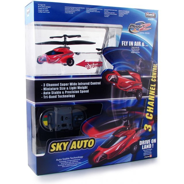 Picoo Z Infrared Control Helicopter Sky Auto (Red)