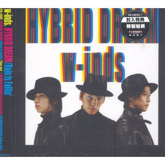 Hybrid Dream / Rain Is Fallin' [CD+DVD Limited Edition Type B]