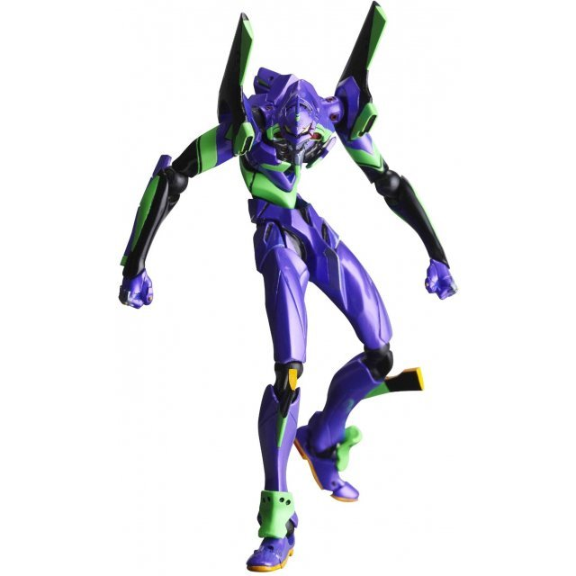 Revoltech Series No. 067 - Neon Genesis Evangelion: Rebuild of Evangelion Pre-Painted PVC Figure: Eva Test Type-01 New Movie Edition Ver. 2 (Re-run)