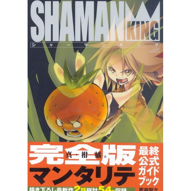 Shaman King: Complete Edition Final Official Guide Book - Mentalite