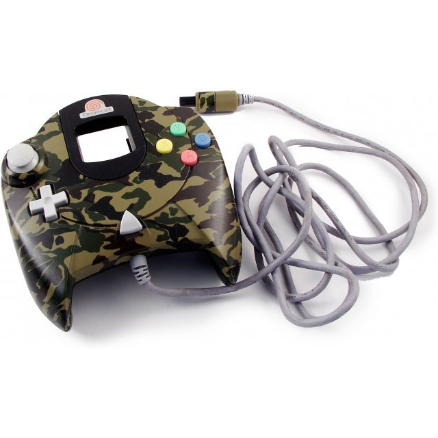 Dreamcast Controller (D-Direct Camouflage Design)