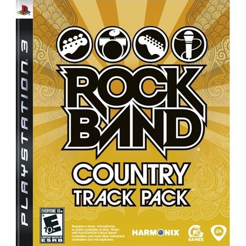 Rock Band Country Track Pack