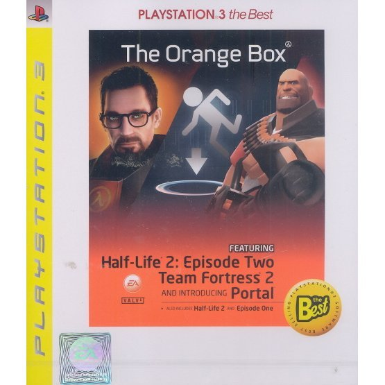 Half-Life 2: The Orange Box (PlayStation3 the Best)