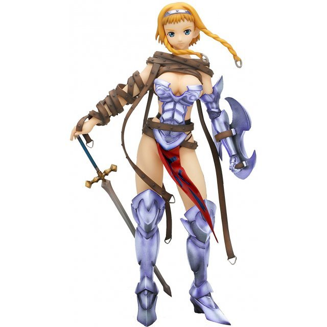 Queens Blade Non Scale Pre-Painted PVC Figure: Leina Exiled Warrior (Re-run)