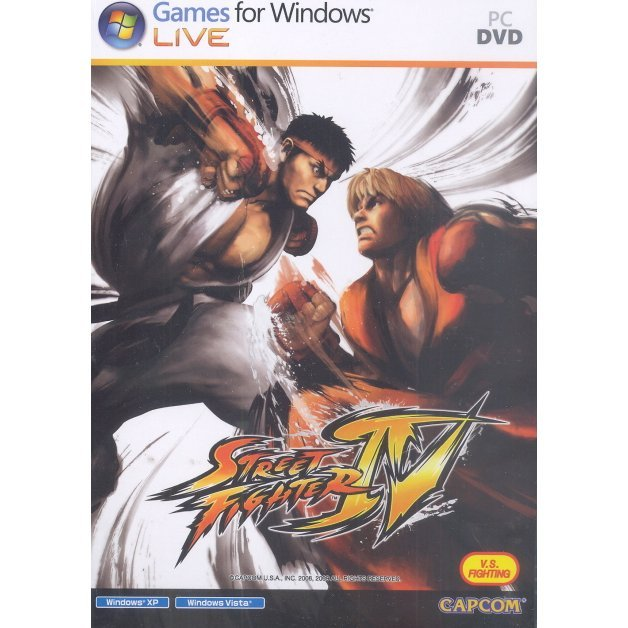 Street Fighter IV (DVD-ROM)