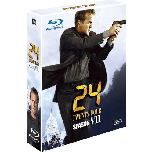 24 - Twenty Four - Season 7 Blu-ray Box